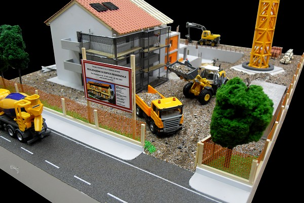 modello plastico cantiere 2
