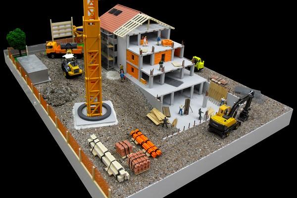 modelli plastici cantieri edili
