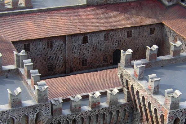 modelli plastici castelli e rocche