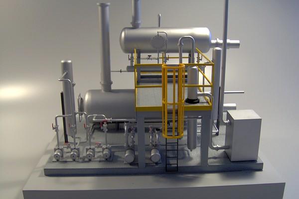 modello plastico conduttura