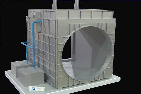 modello plastico deviatore termico