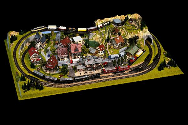 modello plastico ferrovie