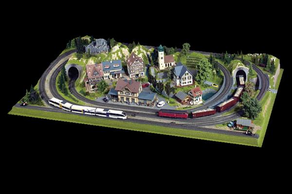 modello plastico ferroviario 100