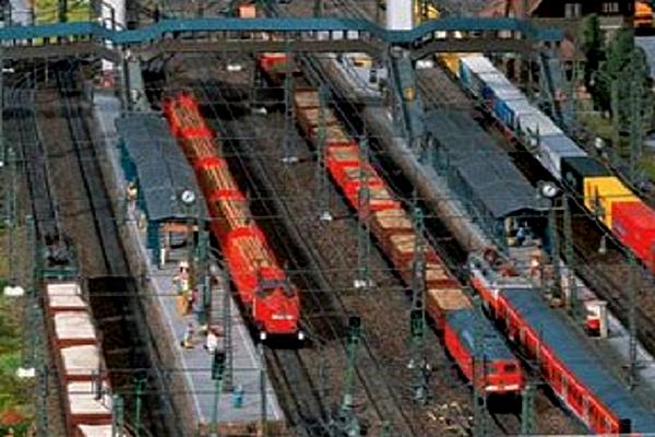 modello plastico progettazione ferroviaria