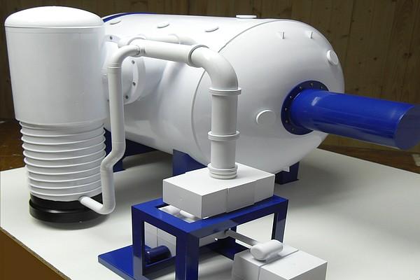 modello plastico forno