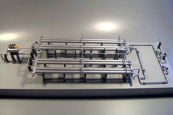 modello plastico gassificatore