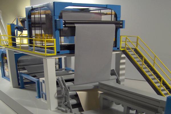 modelli plastici macchinari industriali
