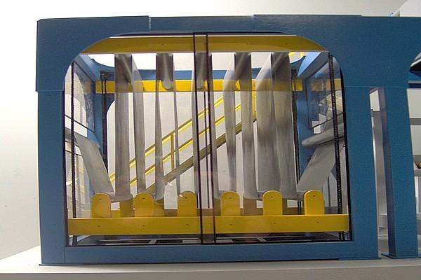 modello plastico macchinario accumulatore