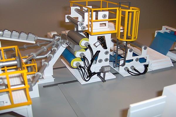 modello plastico macchinario termico estrusore