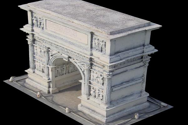 modello plastico monumento storico