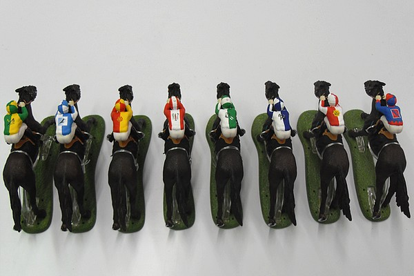 modello plastico palio e battaglie