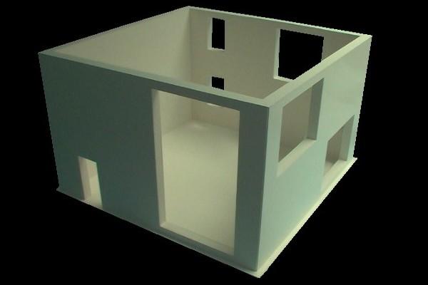 modello plastico perimetria