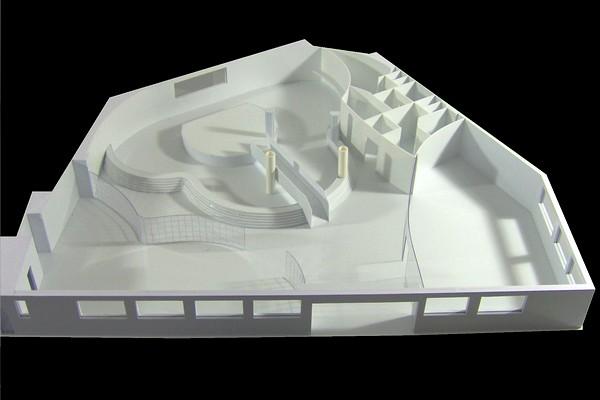 modello plastico perimetria palestra