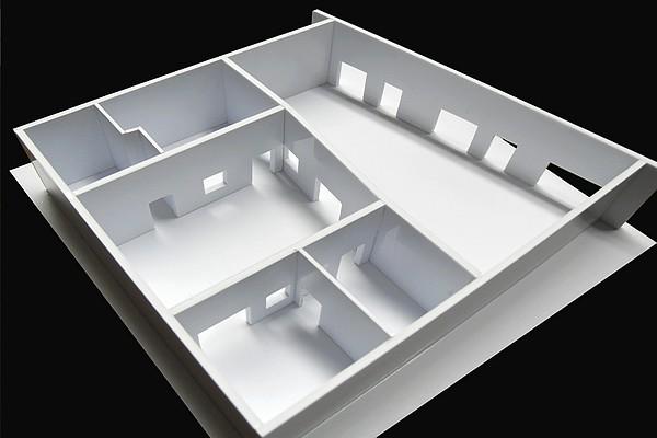 modello plastico perimetria residenziale