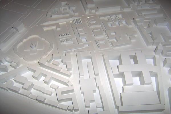 modelli plastici planimetrie e volumetrici