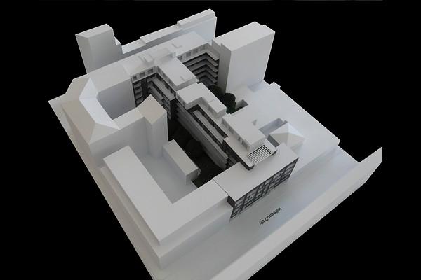 modello plastico architettonico residenziale tecnico
