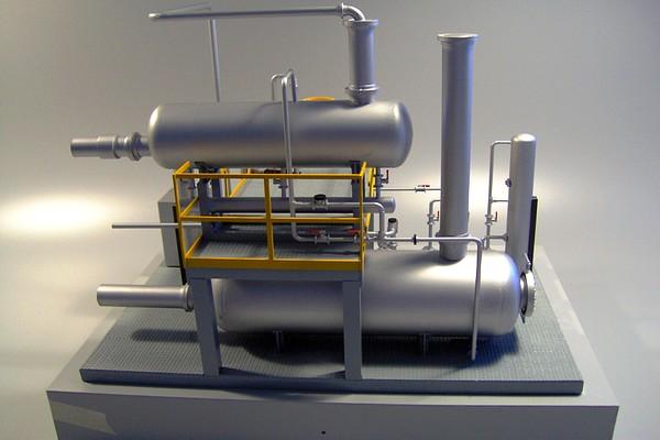 modello plastico serbatoio