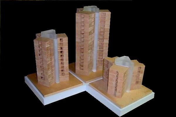 modello plastico sezione componibile