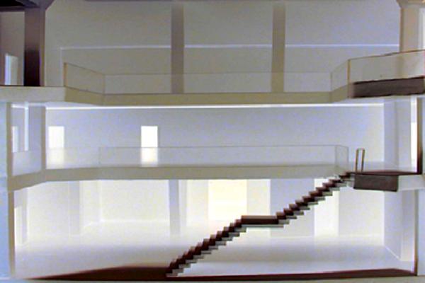 modello plastico sezione interna