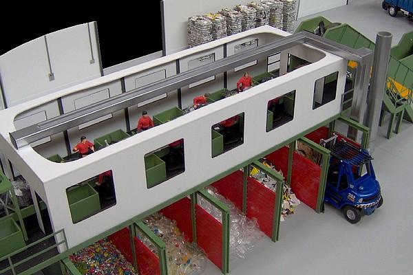 modello plastico sezioni industriali