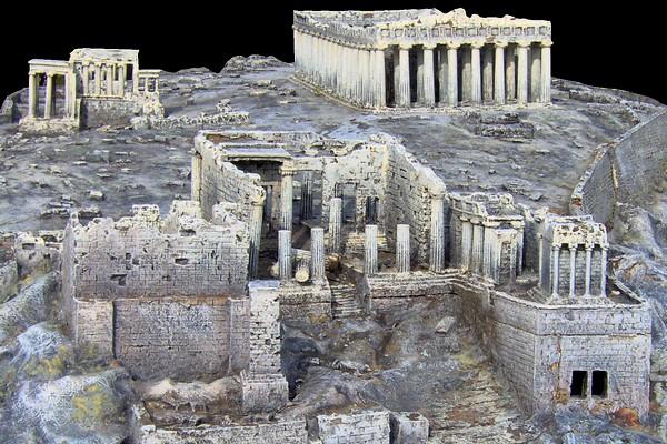 modello plastico sito archeologico