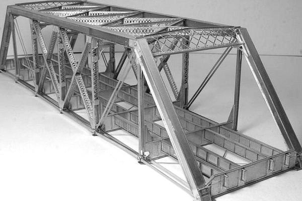 modello plastico struttura ponte
