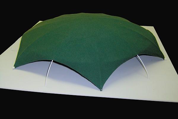 modello plastico tenda