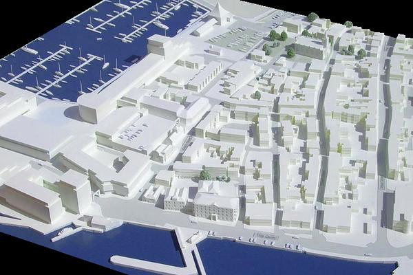 modello plastico urbanistico marittimo