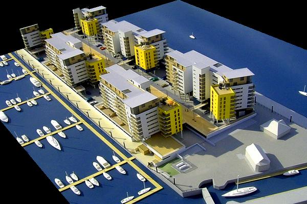 modello plastico urbanistica e trasporti