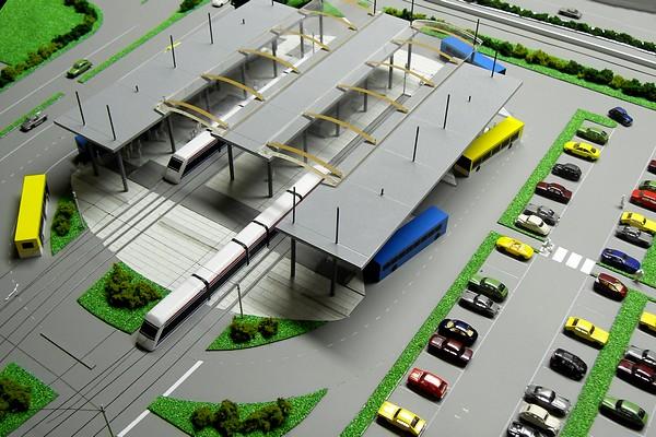 modello plastico stazione ferroviaria