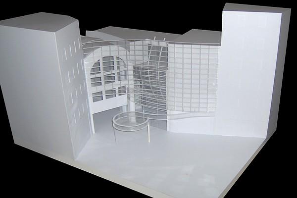 modello plastico volumetrico Via Vittorio Emanuele Milano