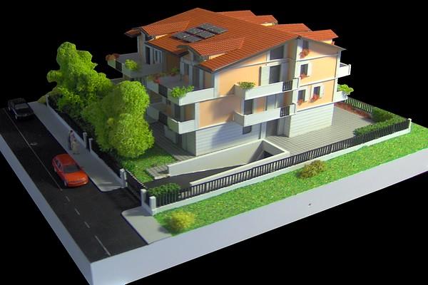 modello plastico architettonico residenziale realistico
